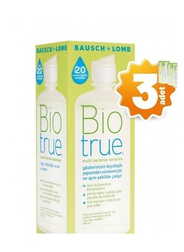 Biotrue Biotrue 3'Lü Lens Solüsyonu 300 Ml  Renksiz